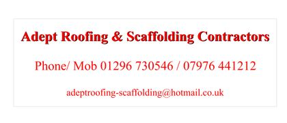 Adept Roofing and Scaffolding