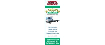 Croakers Towing