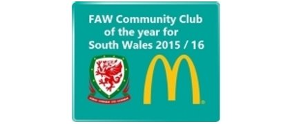 FAW Trust community Club of the year winners