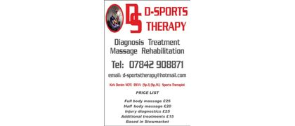 D S Sports Therapy