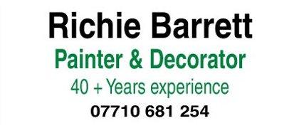 Richie Barrett Painter & Decorator
