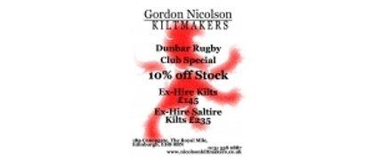 Gordon Nicholson Kiltmaker