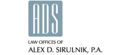 Alex D Sirulnik Law Offices