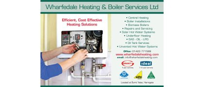 Wharfedale Heating and Boiler Services Ltd