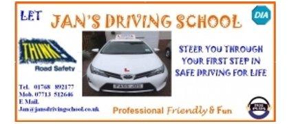 Jan's Driving School