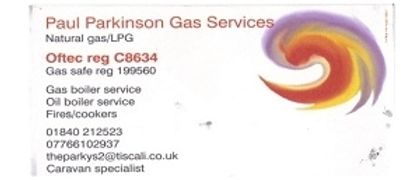 Paul Parkinson Gas and Oil services.