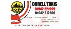 Orrell taxis