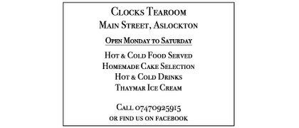 Clocks Tearoom Aslockton