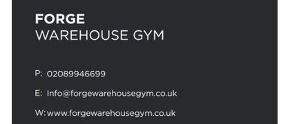 Forge Warehouse Gym