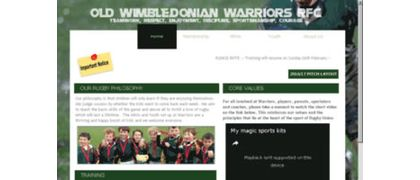 Old Wimbledonian Warriors