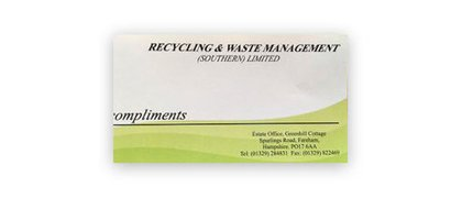 Recycling and Waste Management (southern) limited