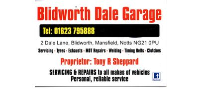 Blidworth Dale Garage