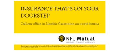 NFU Mutual Llanfair Caereinion