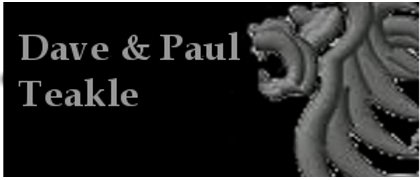 Dave and Paul Teakle