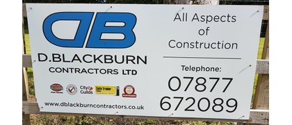 D. BLACKBURN CONTRACTORS LTD