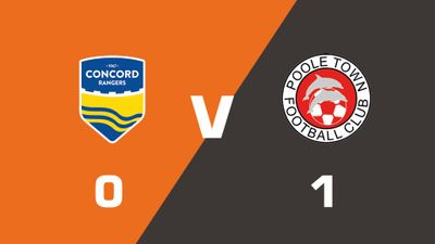 Highlights: Concord Rangers vs Poole Town