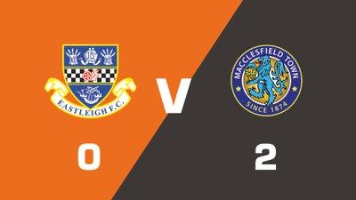 Highlights: Eastleigh vs Macclesfield Town