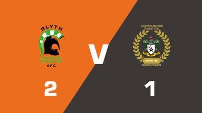 Highlights: Blyth Spartans vs Curzon Ashton