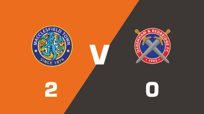 Highlights: Macclesfield Town vs Dagenham and Redbridge