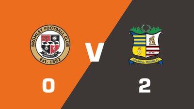 Highlights: Bromley vs Solihull Moors