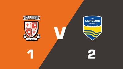 Highlights: Woking vs Concord Rangers