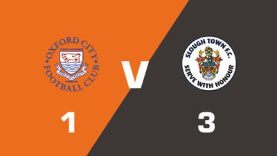 Highlights: Oxford City vs Slough Town