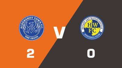 Highlights: Aldershot Town vs Havant & Waterlooville