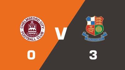 Highlights: Chelmsford City vs Wealdstone