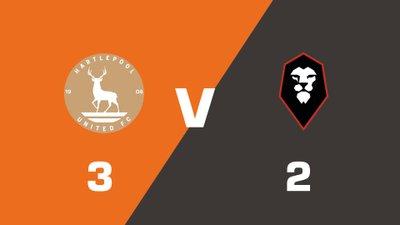Highlights: Hartlepool United vs Salford City