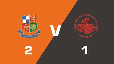 Highlights: Wealdstone vs Hemel Hempstead Town