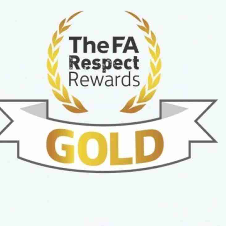FA award for our Respect campaign