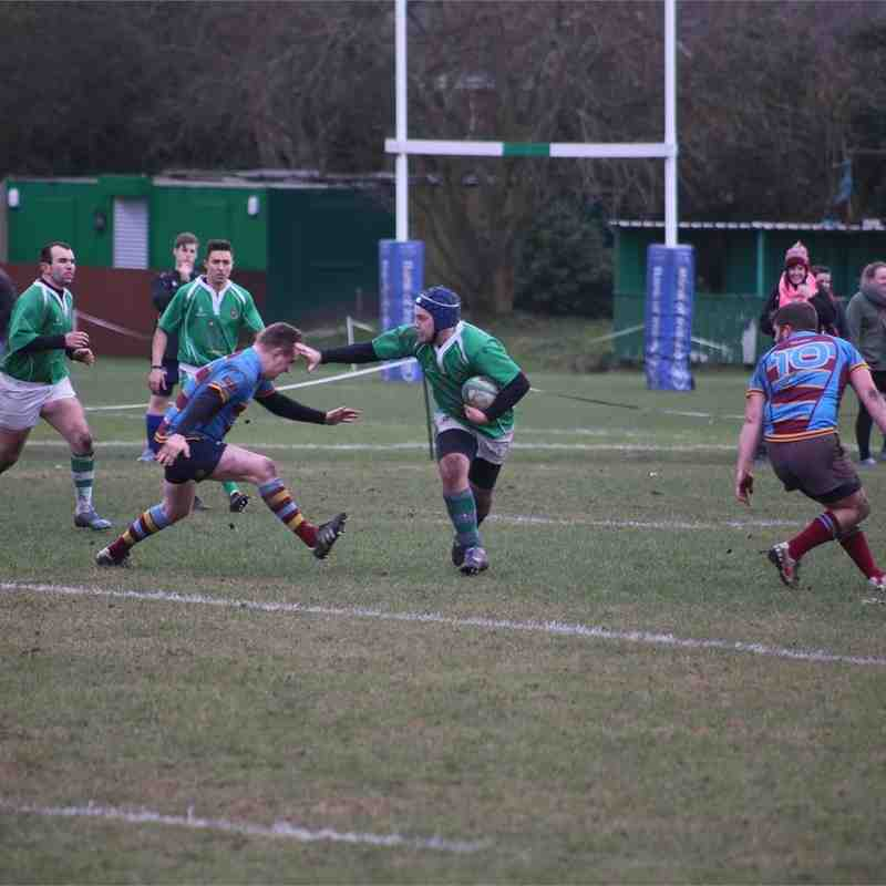 Sutton 3rds V Camp Hill 2nds