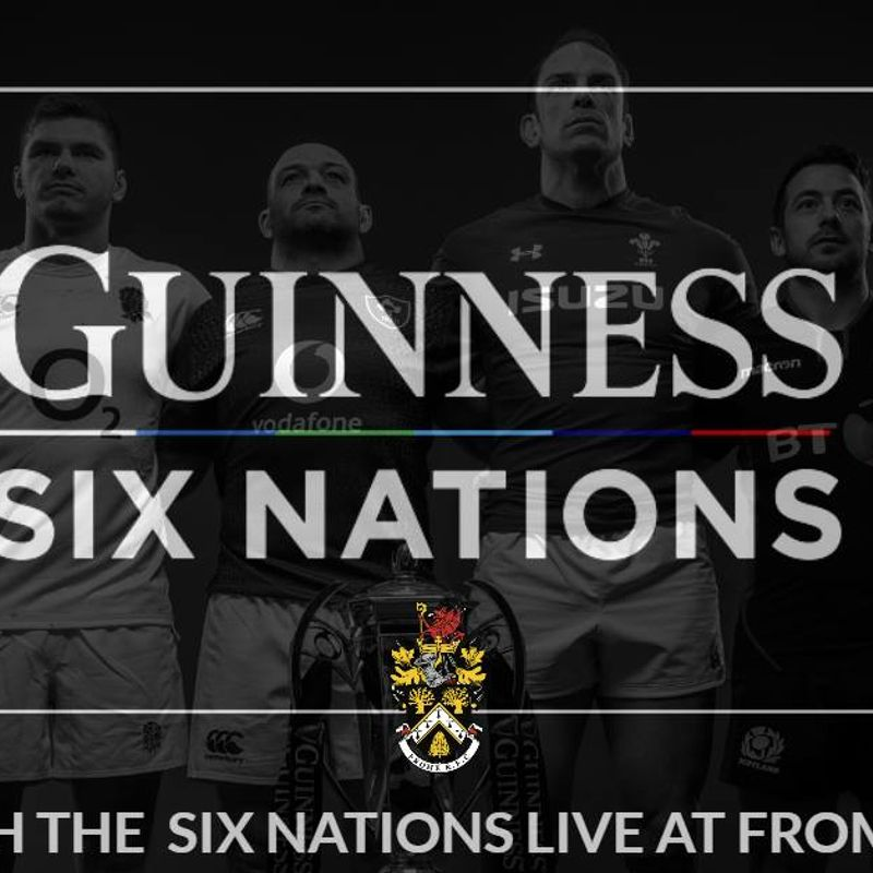 Watch the Six Nations LIVE at Frome RFC
