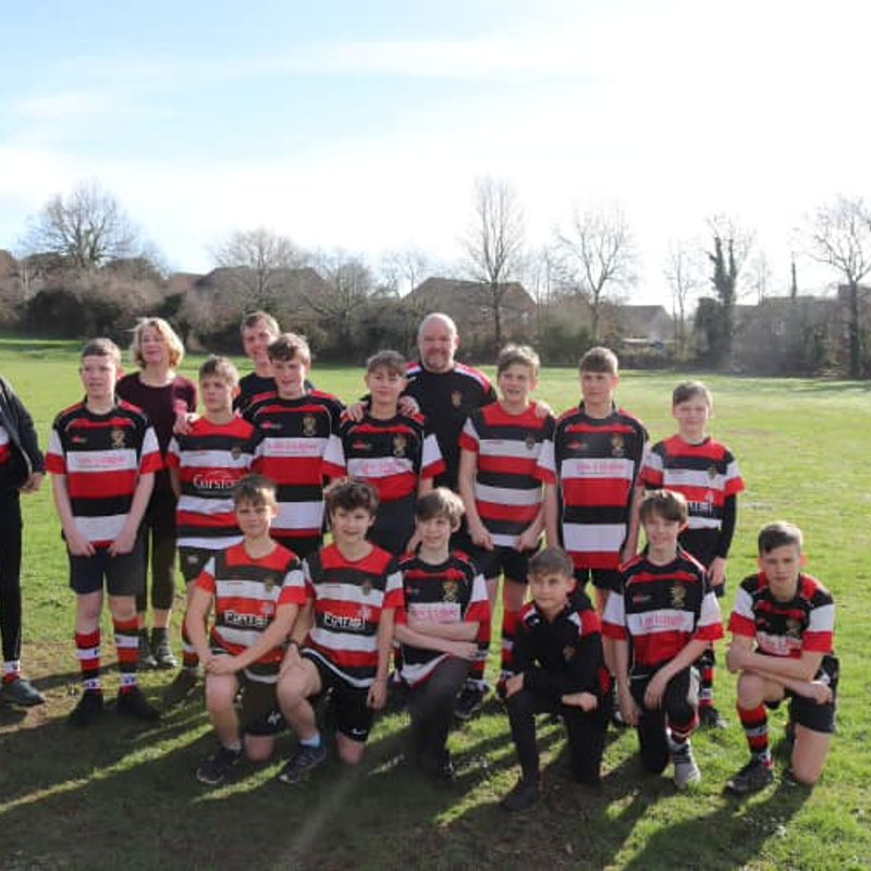 Frome RFC U13's fundraising challenge