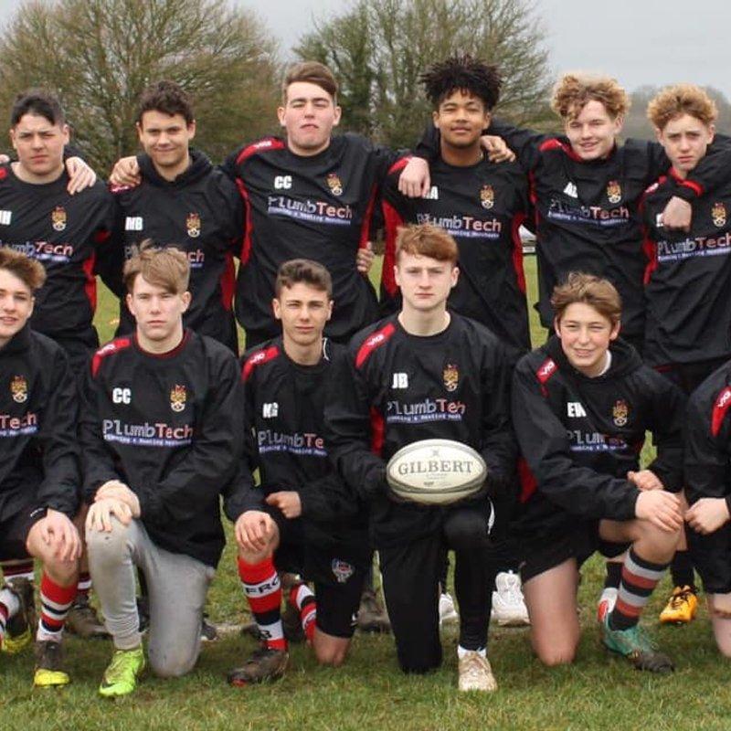 Frome RFC U16's new sponsors