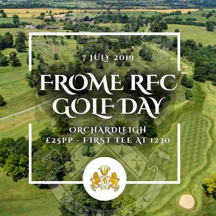 Frome RFC Golf Day
