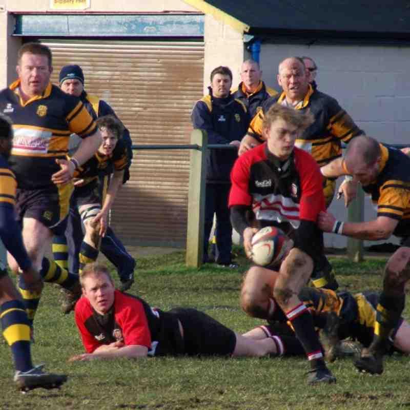 Old Rugby Team: Bridlington V Old Brods 24th Jan 2009