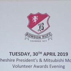 Cheshire Presidents Volunteer Awards 2019