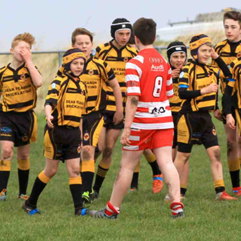 Season 2019 u12s League Kells v Wath Brow