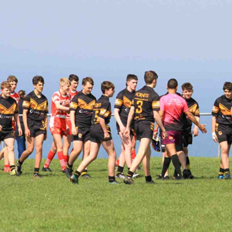 Season 2019 u16s League Kells v Wath Brow