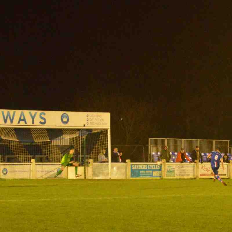 Chasetown v Walsall - WSC 21/01/2020 (Louise Yates)