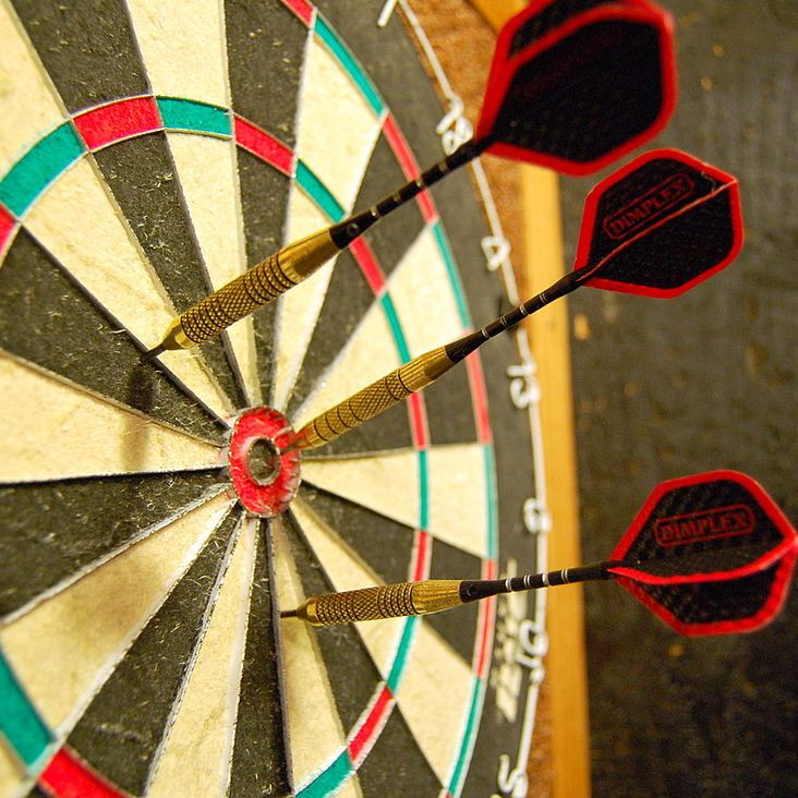 This Friday - darts tournament with a...Mexican theme!<