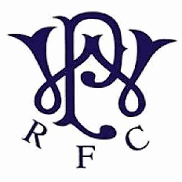 Westcombe Park RFC are recruiting for the 2019/20 season
