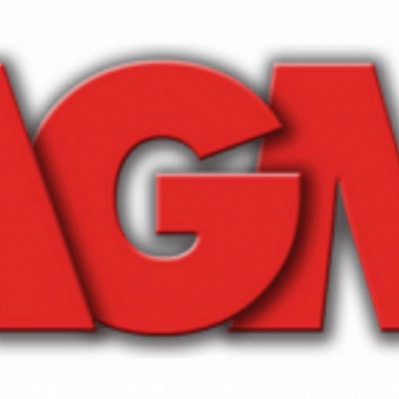 AGM Thursday 21st February