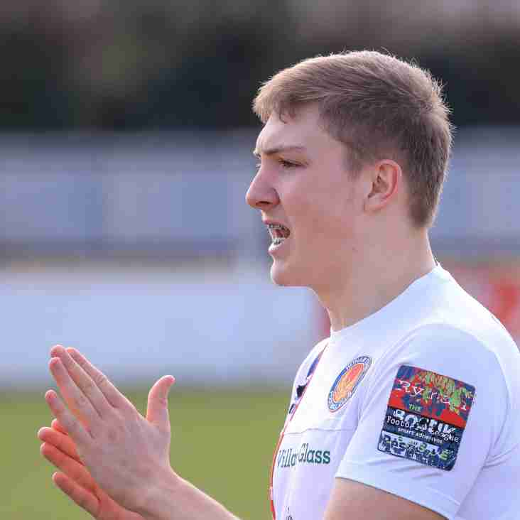 Witham Town boss is keeping to his vow to use local talent