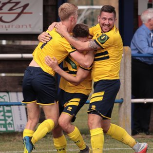 Witham Town began the season with an emphatic victory