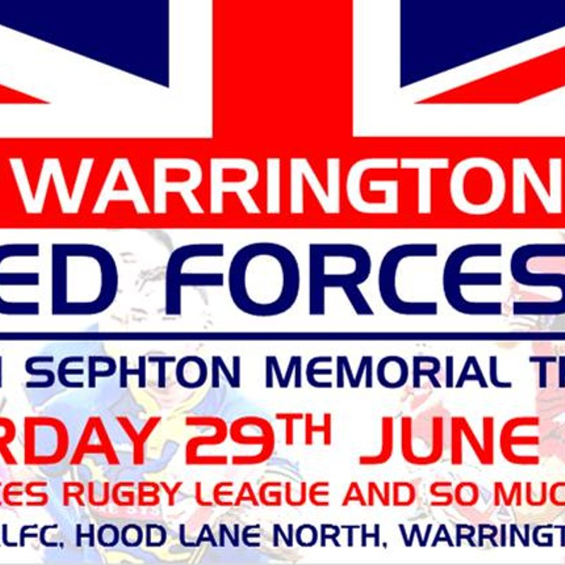 Tom Sephton Memorial Trophy marks 10th anniversary on Armed Forces Day