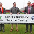 Listers Service Centre in Banbury supporting the Club