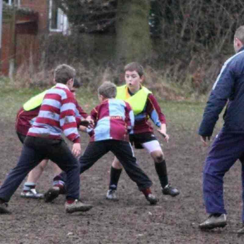 U11's V Clavedon - pictures by Brian Freeman
