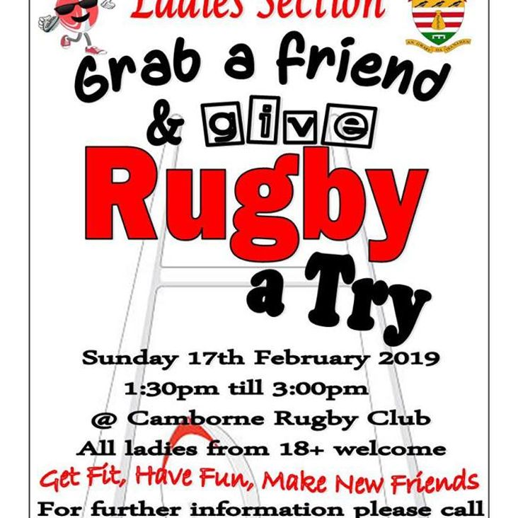 Ladies, Give Rugby a Try!<